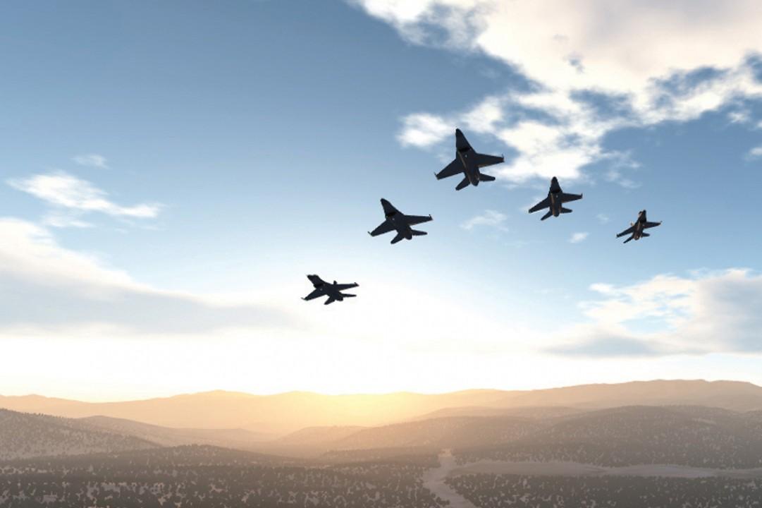 Presagis FlightSIM High-Fidelity Flight Simulation Application