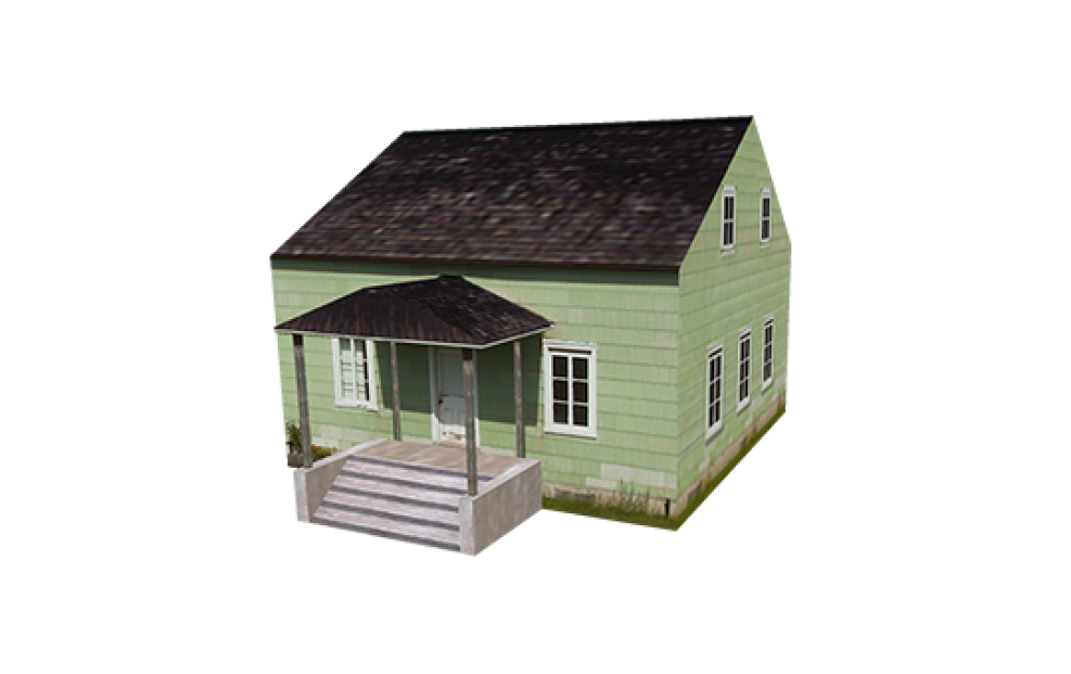 Presagis 3D Model Library | Buildings, Structures, Houses
