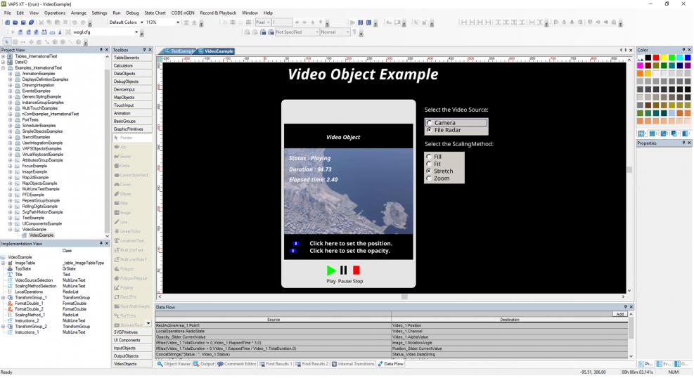 VAPS XT - Presagis - COTS Modeling & Simulation Software